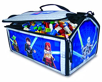 Neat Oh! LEGO Star Wars ZipBin Battle Bridge 500 Brick Storage Case