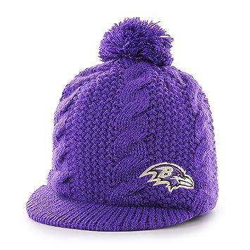 d5ace694f8a NFL Baltimore Ravens Female Krista OTS Knit Cap