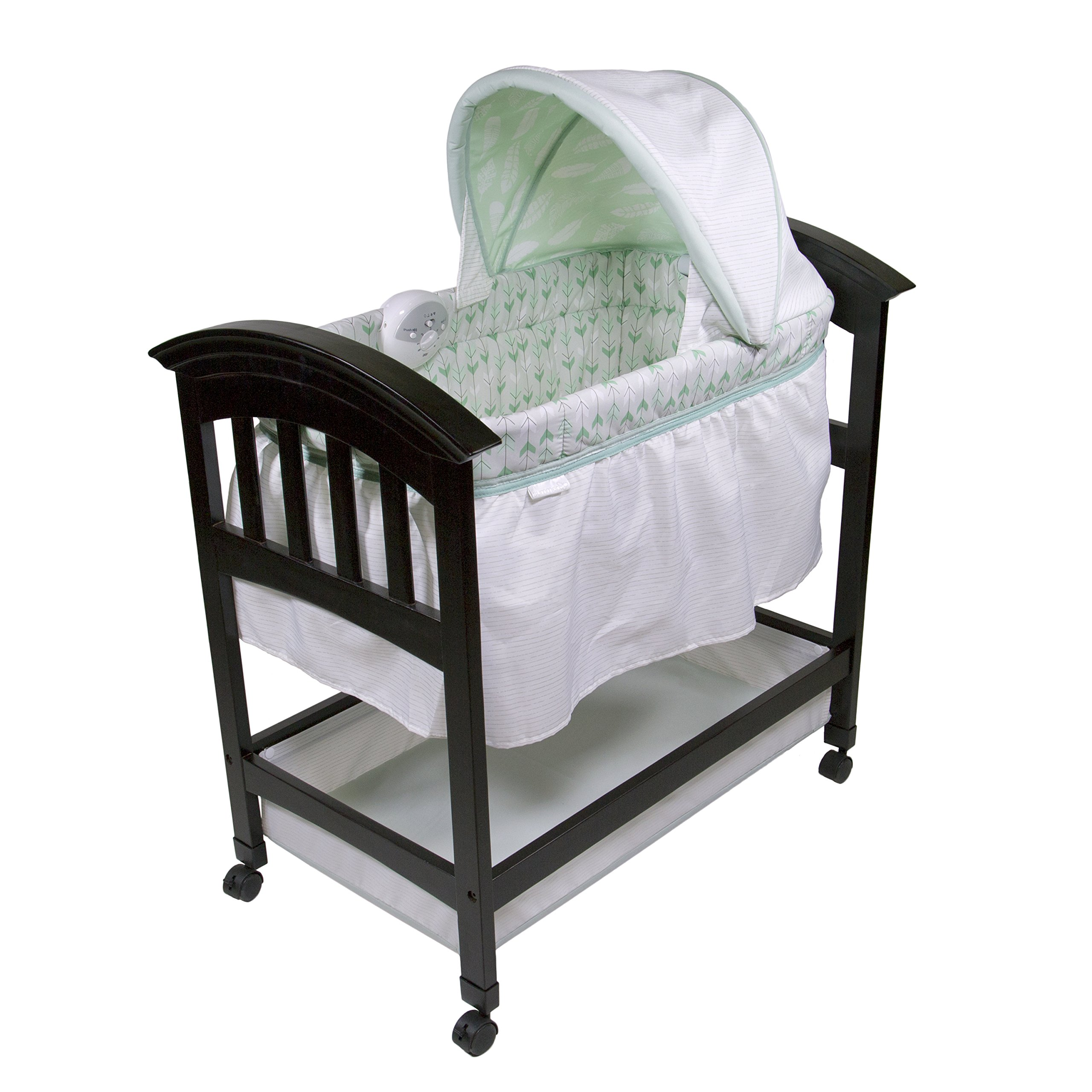 Summer Infant Classic Comfort Wood On Point Bassinet by Summer Infant (Image #1)