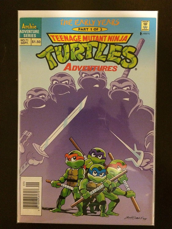 Teenage Mutant Ninja Turtles Adventures #71 and #72 First ...