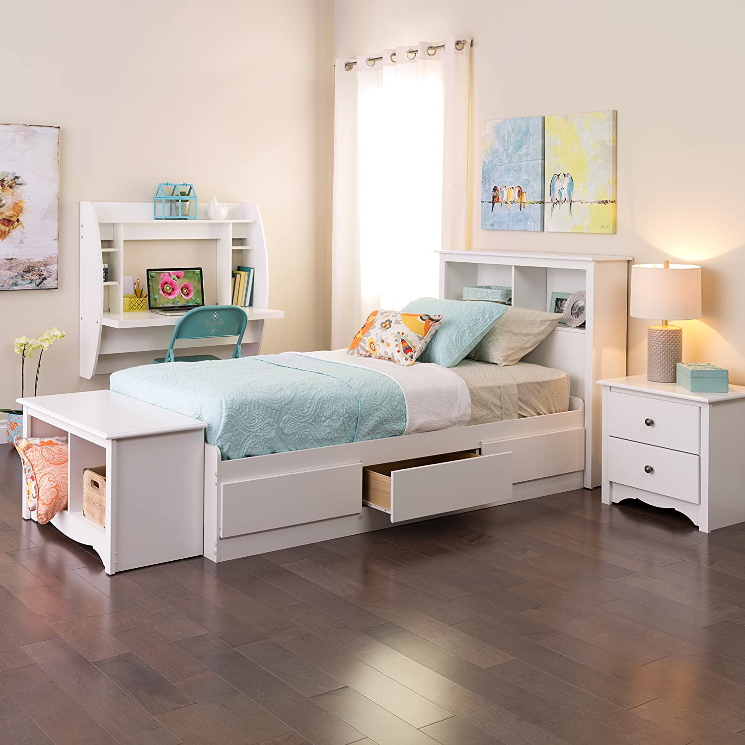 co drawers bedroom trundles bed with storage drawer furniture company under handmade beautiful simple kids the by