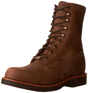 amazon com chippewa men s 8 20070 lace up boot shoes