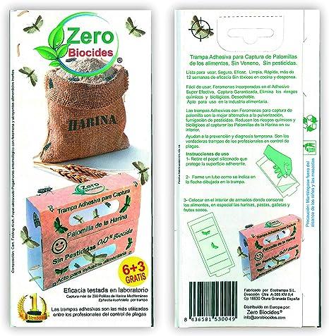 Zero Biocides 9 Trampa para Polilla de los Alimentos Fabricas en ...