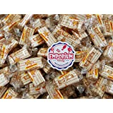 Atkinson's Sugar Free Peanut Butter Bars - Delicious Individually Wrapped 1.5 lbs Bulk Frosted Coated Candy with…