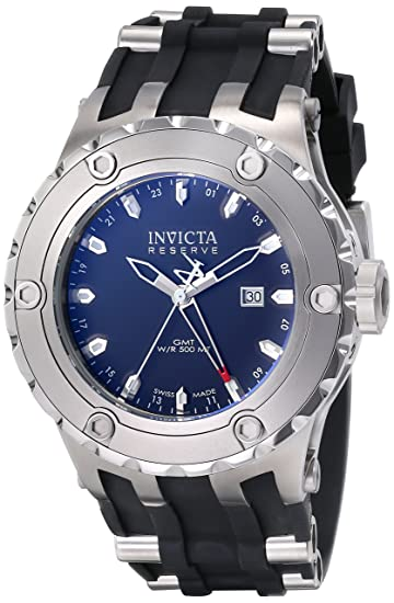 Invicta 6182 - Reloj de Cuarzo para Hombres, Color Negro: Amazon.es: Relojes