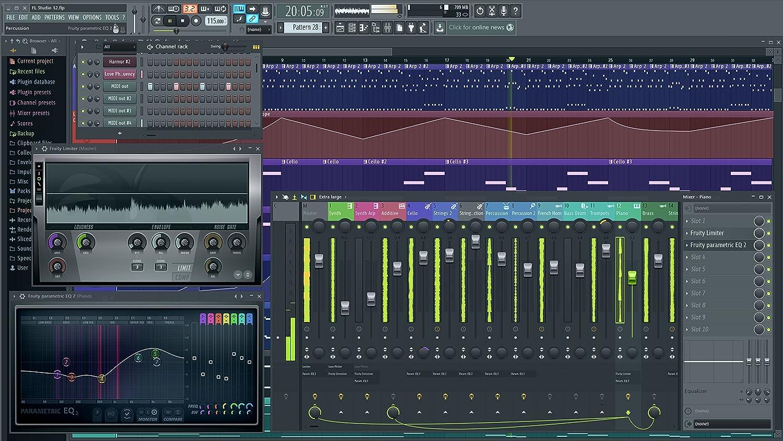 Image-Line FL Studio 12 Fruity Edición FL software secuenciador/grabadora