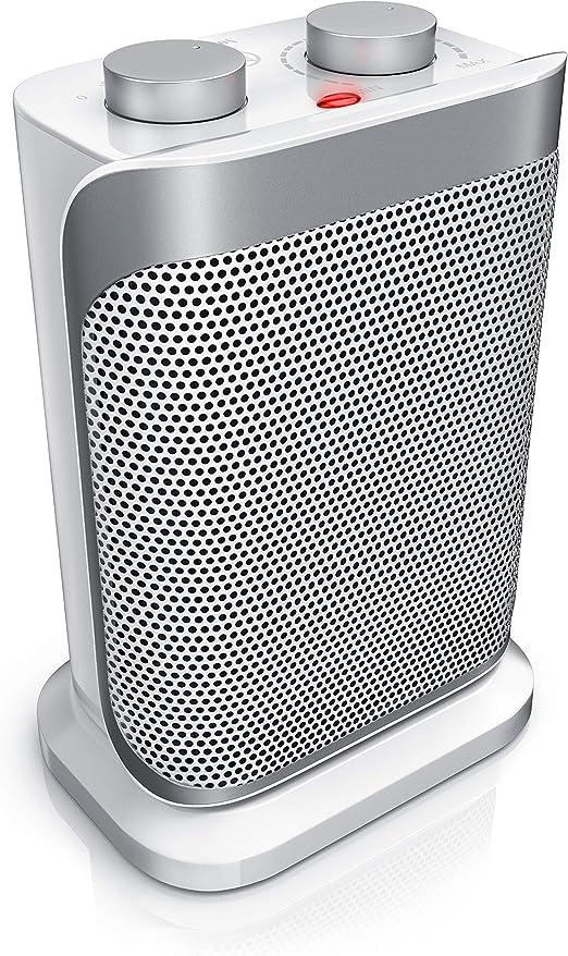 Brandson - Calefactor cerámicos con 2 Niveles de Potencia + ...