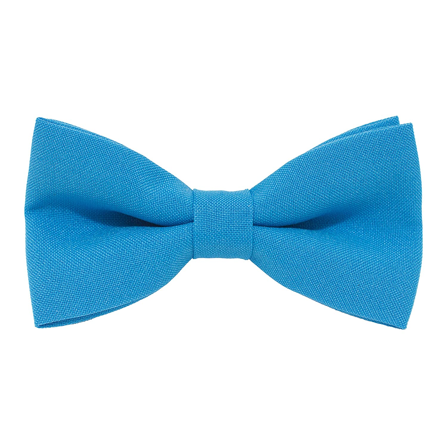 Bow Tie House Classic Pre-Tied Bow Tie Formal Solid Tuxedo for Adults /& Children by