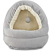 Harmony Hooded Cave Cat Bed