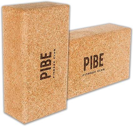Pibe Bloque Yoga Corcho Natural Pack 2 Piezas Ecológico de Alta ...