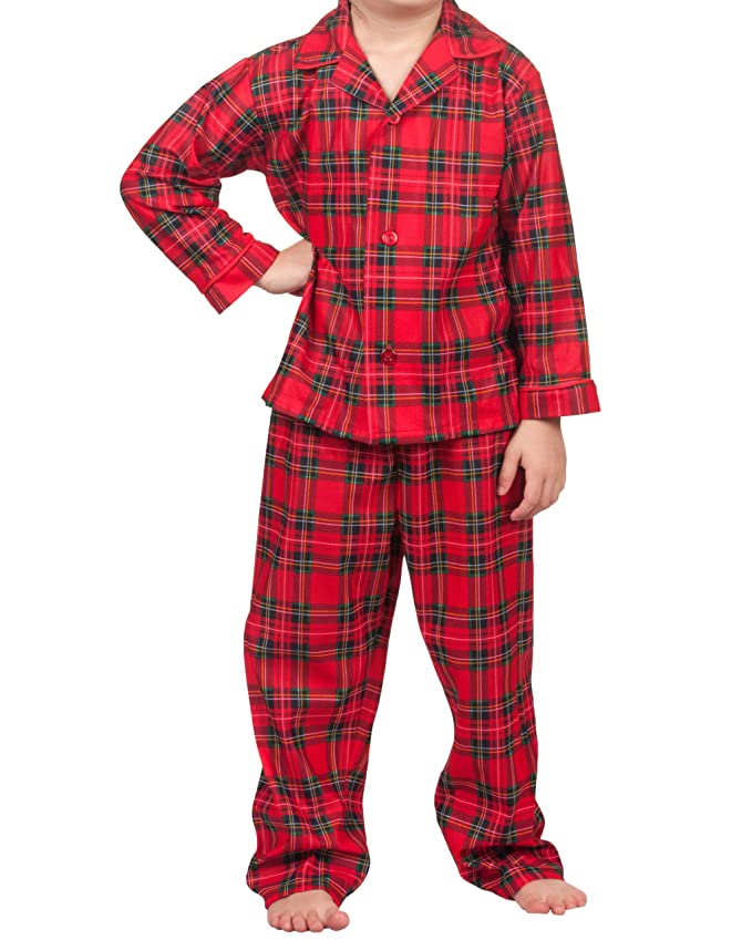 4966b43043 Amazon.com  Tom and Jerry Holiday Red Plaid Coat Style Pajamas for Baby Boys    Baby