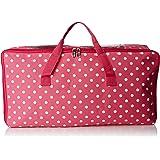 Okayji Fabric Storage Organizer Bag, Pink