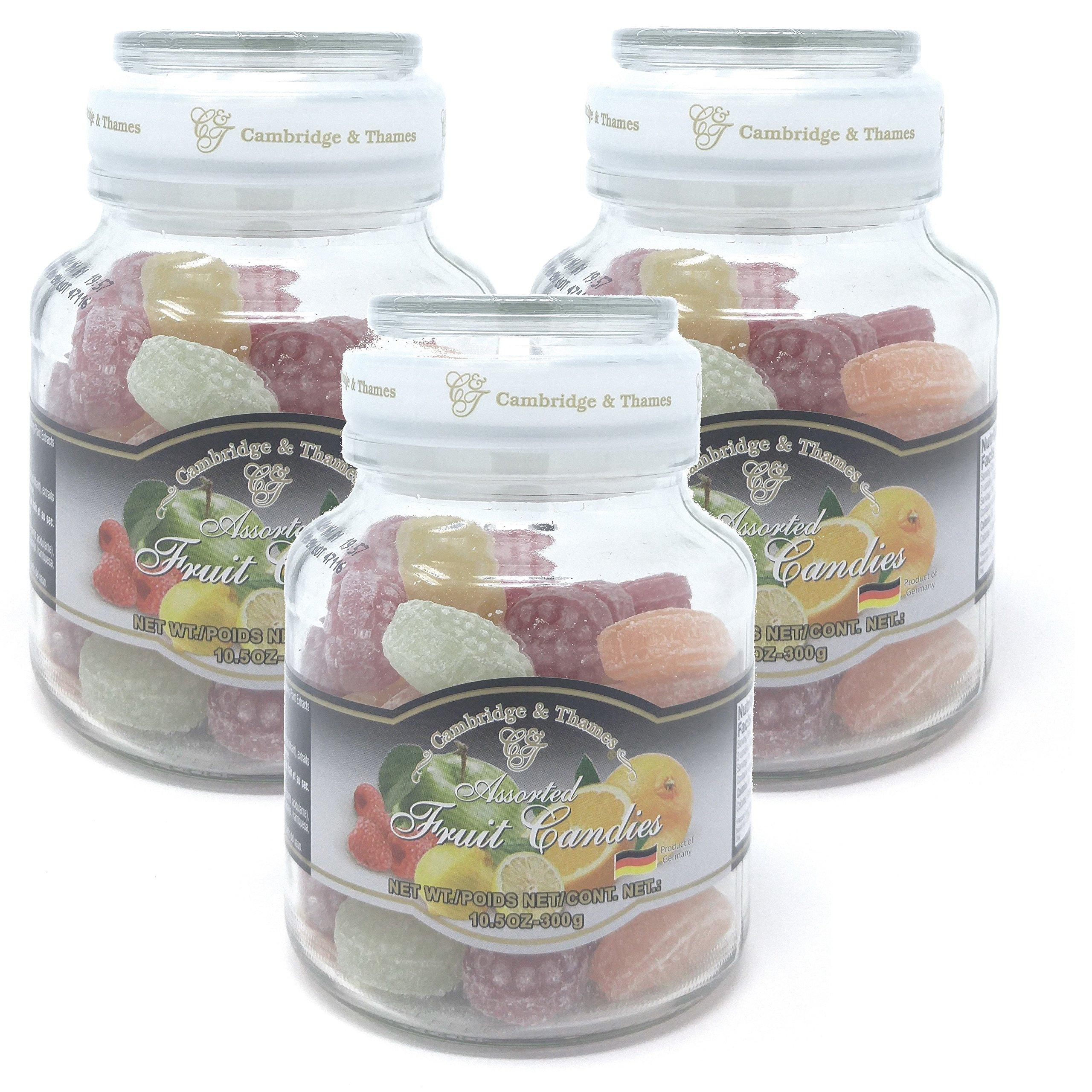 Cambridge & Thames Assorted Fruit Candies (10.5 Oz.) 46 Candies (3 Pack)