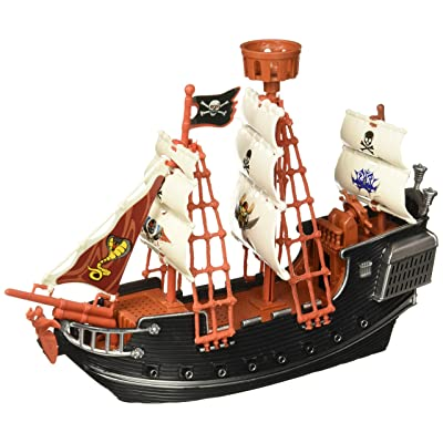 """Oasis Supply Extra Large Pirate Ship Cake Topper - 10"""" Long: Kitchen & Dining"""