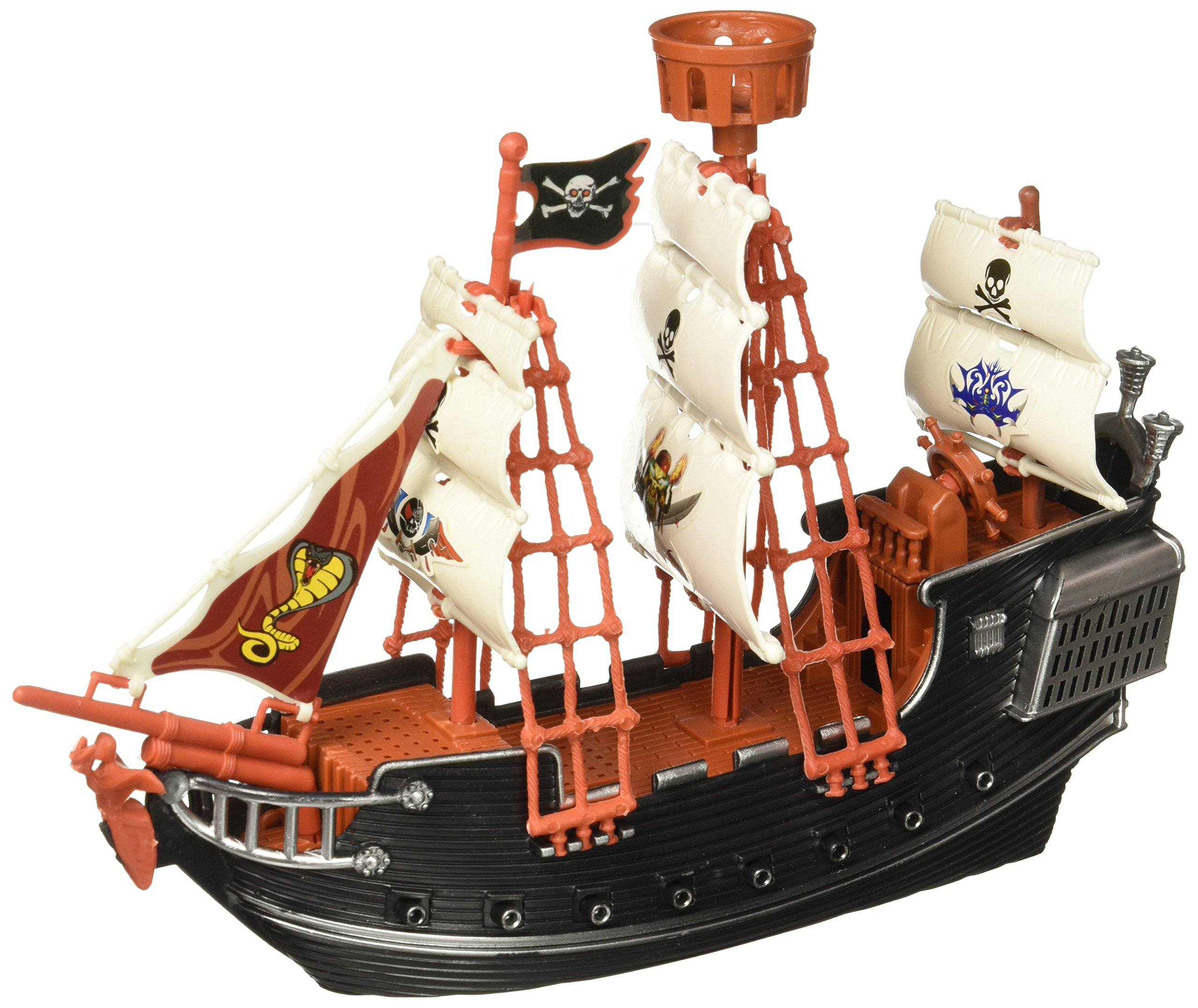Oasis Supply Extra Large Pirate Ship Cake Topper - 10'' Long by Oasis Supply (Image #3)
