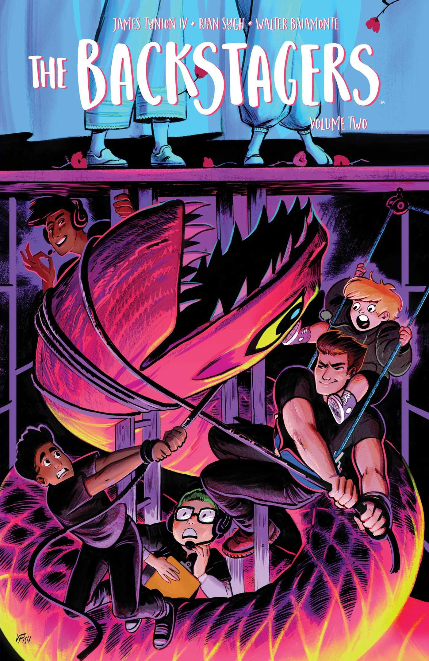 Image result for backstagers vol 2