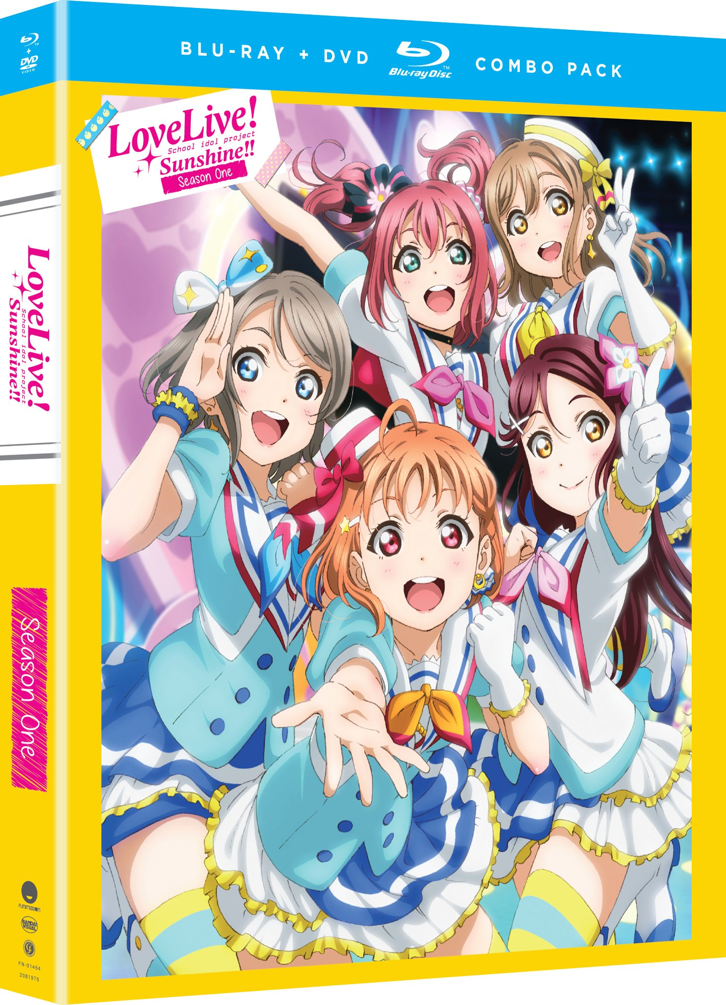 Blu-ray : Love Live! Sunshine!!: Season One (With DVD, Boxed Set, 4 Disc)