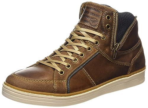 MUSTANG Herren Sneaker High Top, 3 braun, 46 EU: