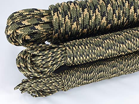 0,29/€//m - 1,19/€//m ANBP Moro Camouflage Seil Gr/ün Polypropylenseil 20m 3mm 4mm 5mm 6mm 8mm 10mm 12mm