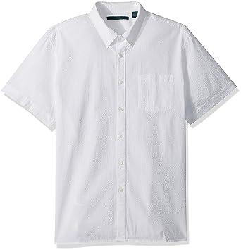 Perry Ellis Men s Long Sleeve Seersucker Shirt at Amazon Men s ... 3cd9bae6f