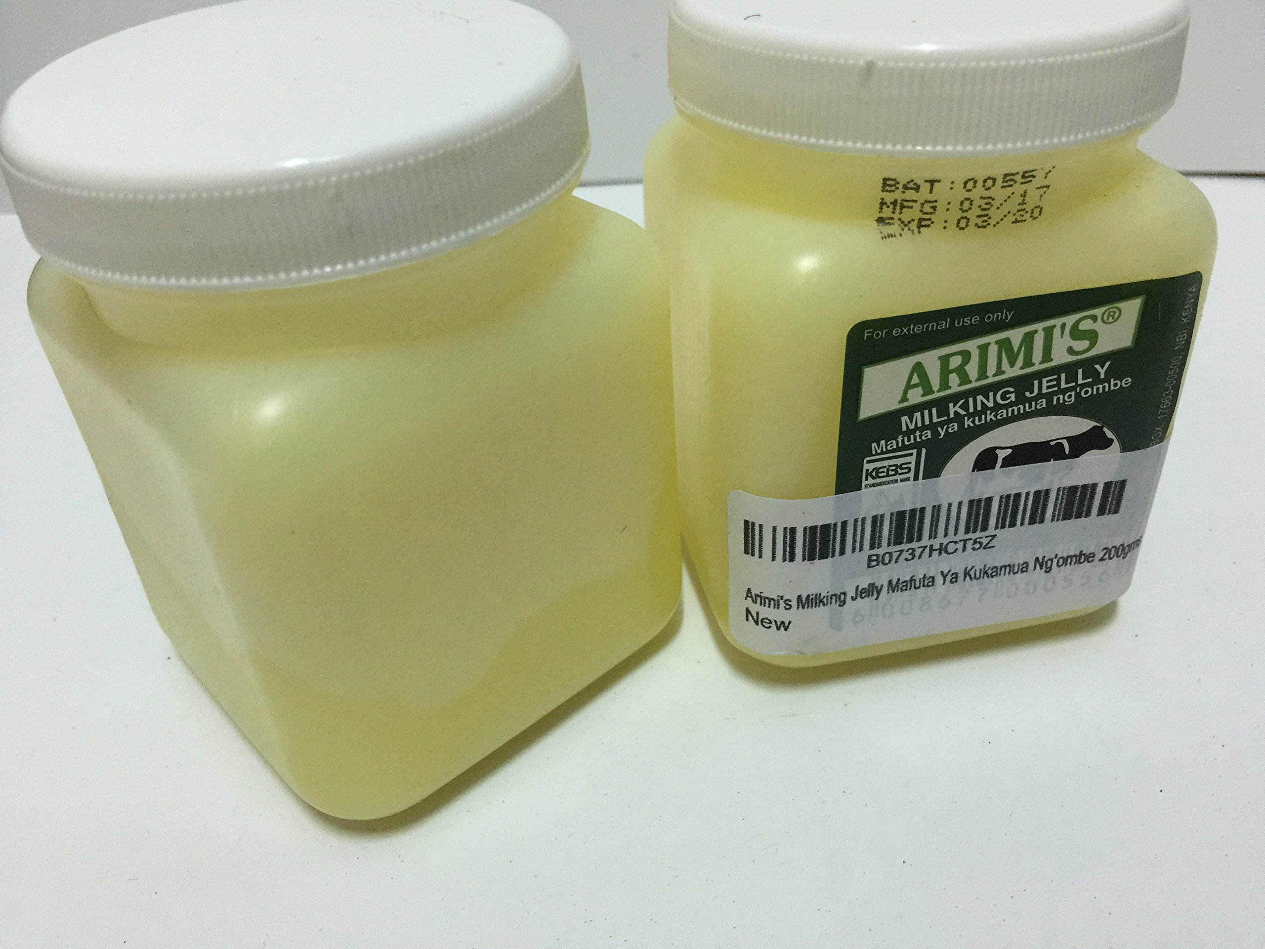 Arimi's Milking Jelly Mafuta Ya Kukamua Ng'ombe 200gms paired