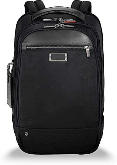 Briggs & Riley Work Medium Backpack Maletín, 44 cm, 17.2 Liters ...