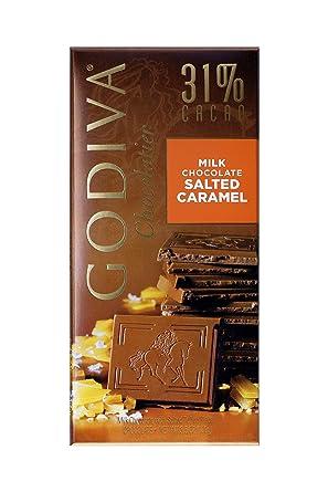 Godiva, Tableta Chocolate con Leche Caramelo Salado, 100g