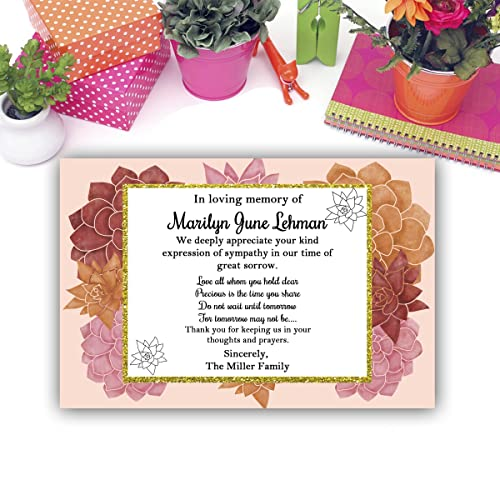 amazon com sympathy acknowledgement cards funeral thank you and