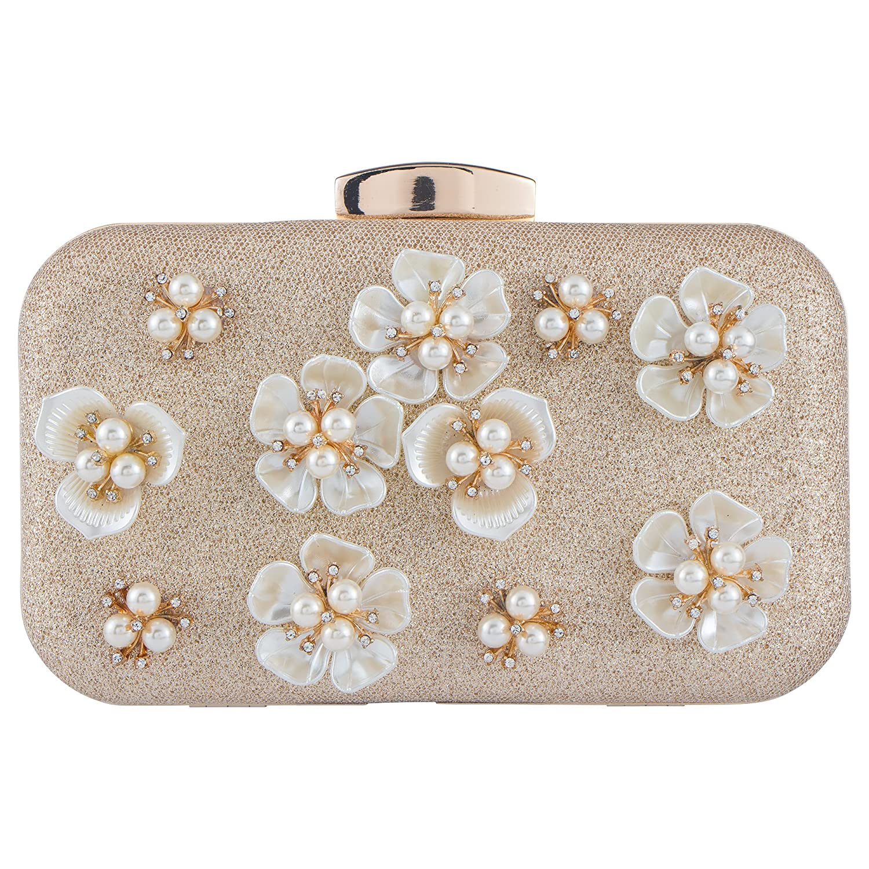 32c347a1c18 Bagood Women's Floral Beaded Design Evening Clutch Bags Wedding Purse:  Amazon.com.au: Fashion