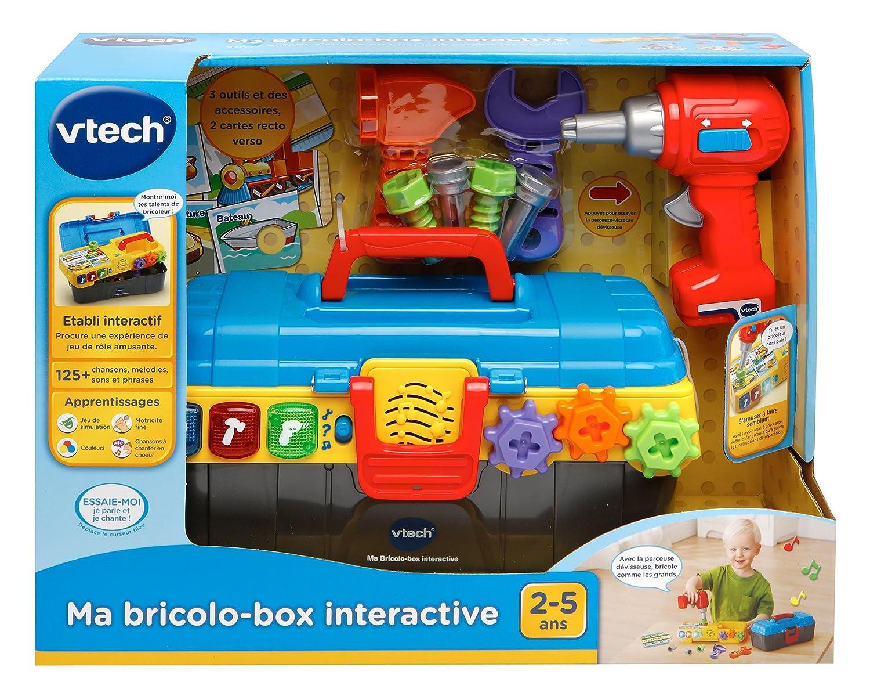 VTech Ma bricolo-Box Interactive Juguete para el Aprendizaje Juguetes para el Aprendizaje AA, 133 mm, 375 mm, 279 mm, 1,1 kg