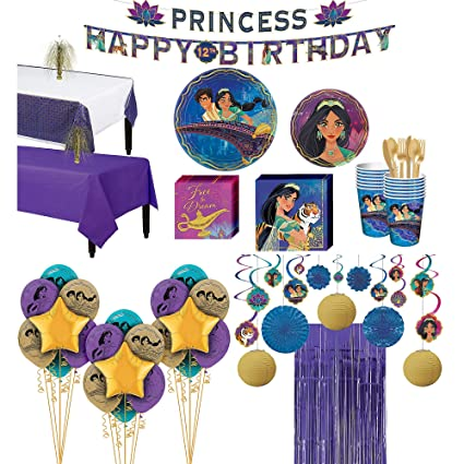 Amazon.com Party City Super Aladdin Party Supplies for 16