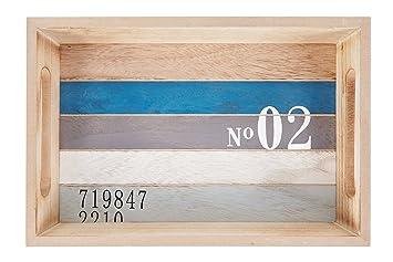 Heitmann Deco   Holz Tablett Maritim   Tolle Tischdeko   Dekoration Für Haus  Und Wohnung