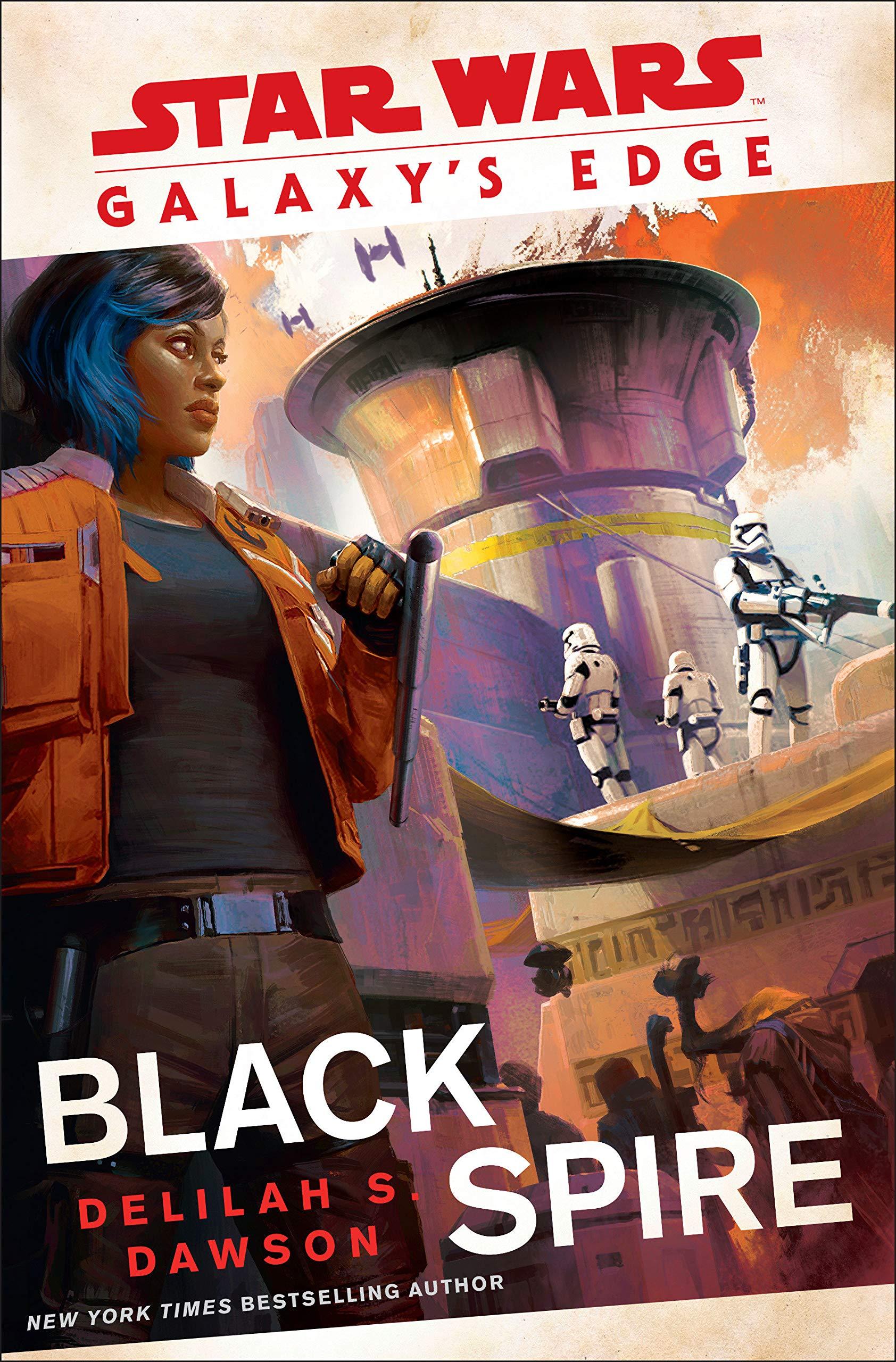 Galaxy S Edge Black Spire Star Wars 9780593128381 Dawson Delilah S Books