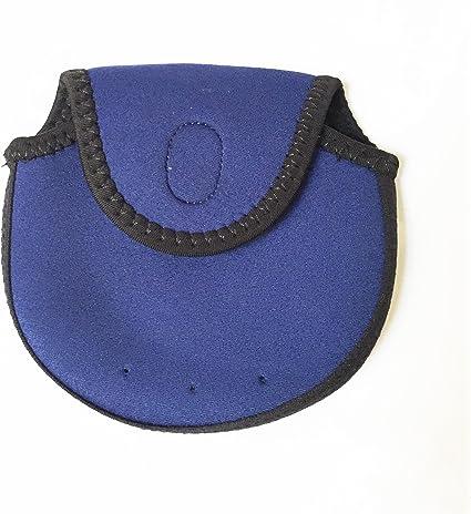 2Pc Neoprene Fishing Reel Caver Bag 4000-5000 Spinning Reel Large Case Pouch