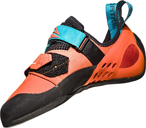 La Sportiva Katana - Pies de Gato Hombre - Naranja/Turquesa Talla del Calzado 39