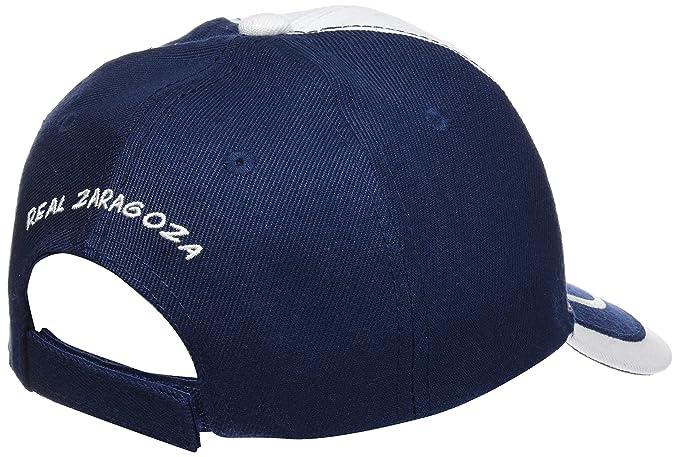 Real Zaragoza Gorzar Gorra, Azul/Blanco, Talla Única: Amazon.es: Deportes y aire libre