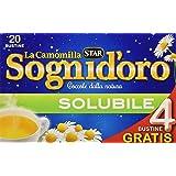 Sognid'oro - Estratto zuccherati, di Matricaria Camomilla, solubile - 24 confezioni da 20 Filtri [480 Filtri]