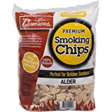 Camerons Products Alder Wood Smoker Chips ~ (2lb. Coarse), 260 cu. in. - 100% All Natural, Coarse Wood Smoking and Barbecue C