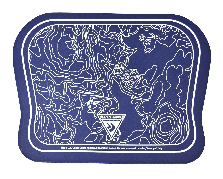 Seattle Sports Built U.S.A Paddler Pad Seat Cushion Seattle Sports Co. Blu-082800