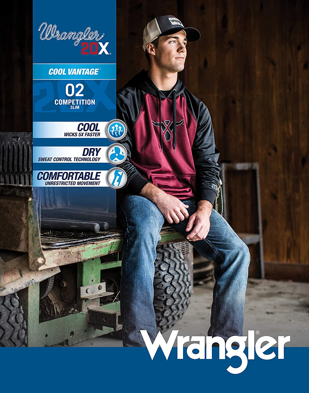 Wrangler Mens 20X Cool Vantage Competition Slim Fit Jean