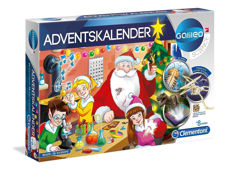 Clementoni 59080Galileo 2018Science Advent Calendar, Multi-Colour