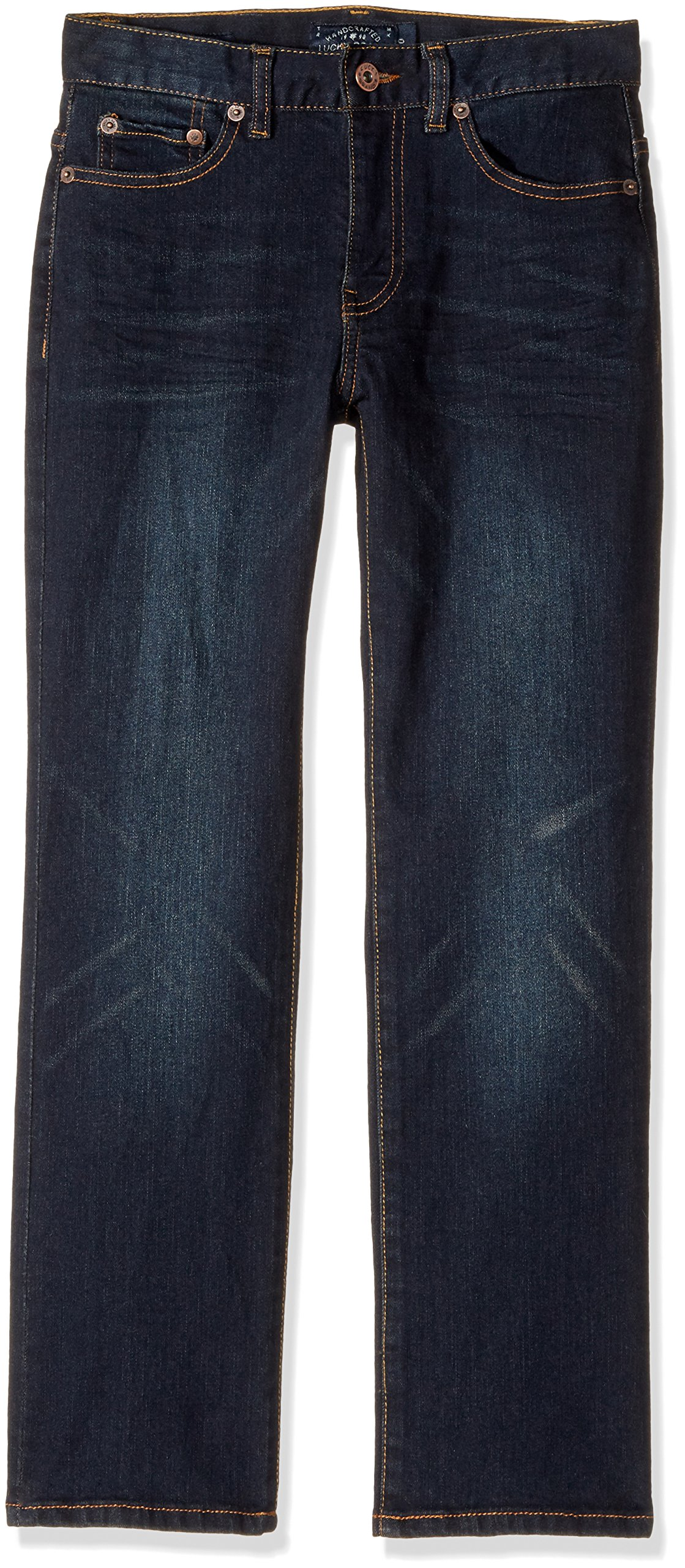 Lucky Brand Boys' Big Classic Straight Jean, Barite, 16