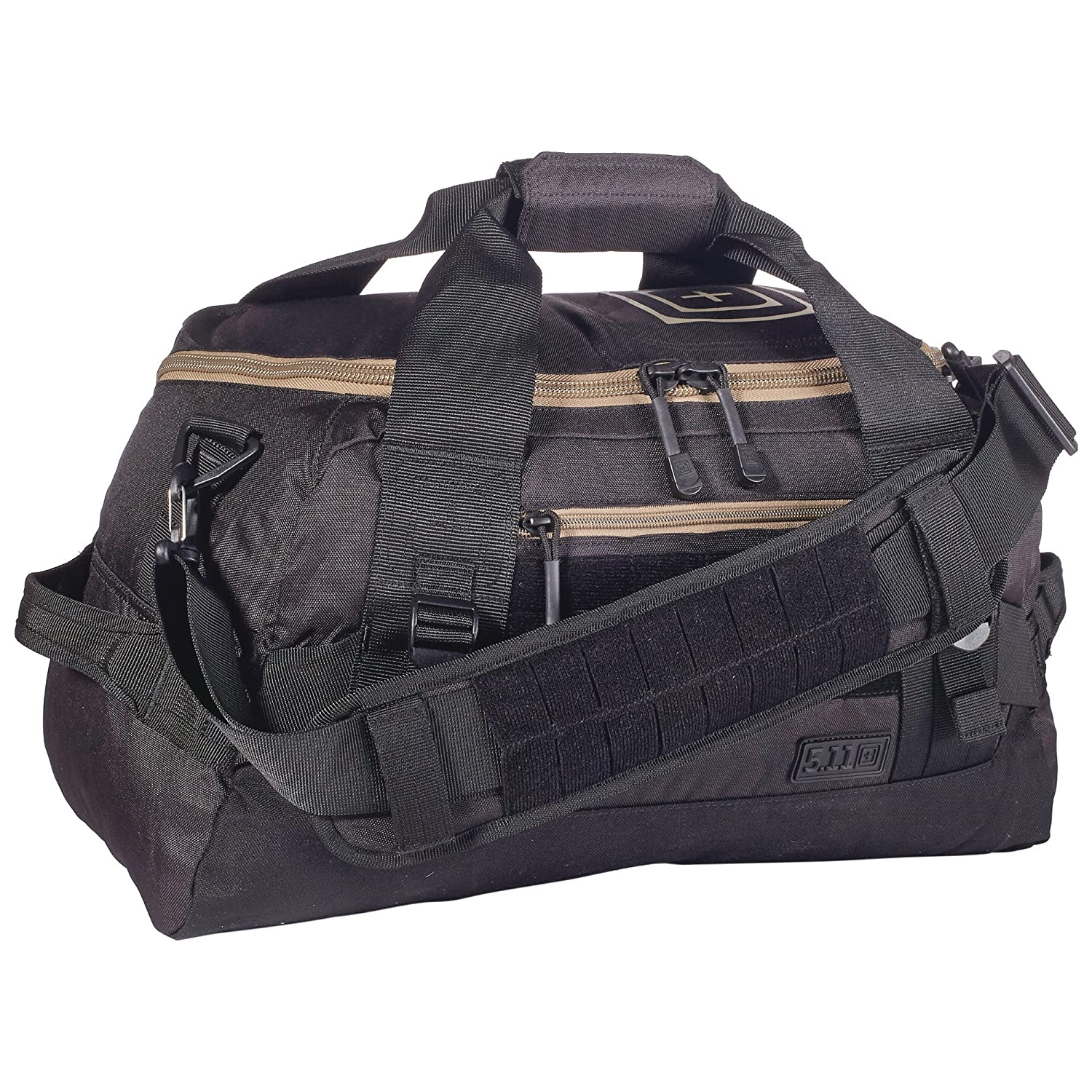 5.11 Tactical Series NBT Mike Duffle Bag, 10 x 19 x 10-Inch, Black RSR Group Inc 56183