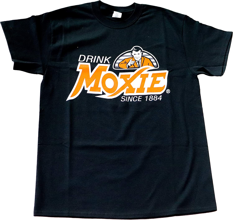 Moxie Men's T-Shirt, Wicked Good Black Tee