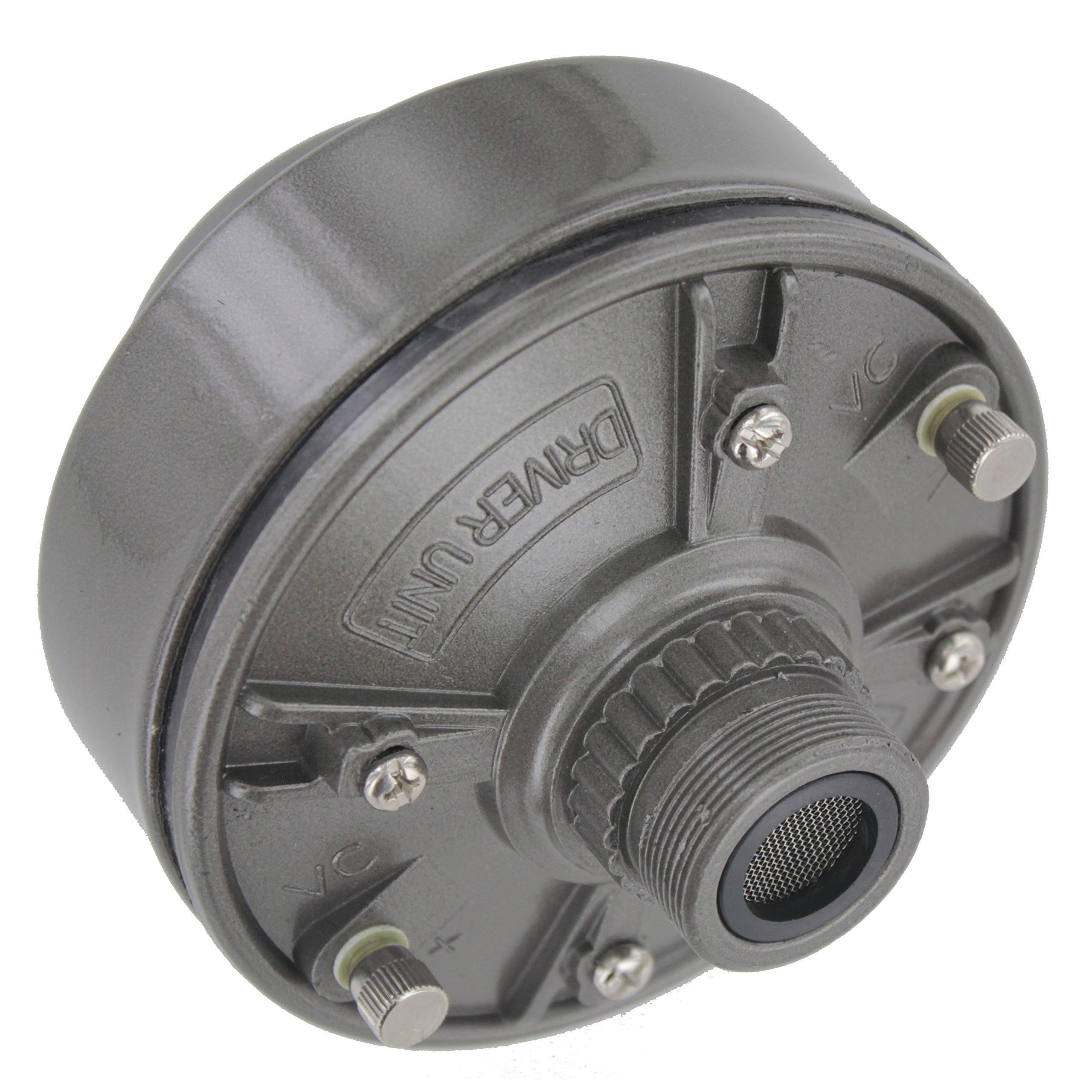 MIYAKO 100 Watts 16 ohms Speaker Driver Unit with Aluminum Body and Neodymium Diaphragm Screw on Type (DU-100)