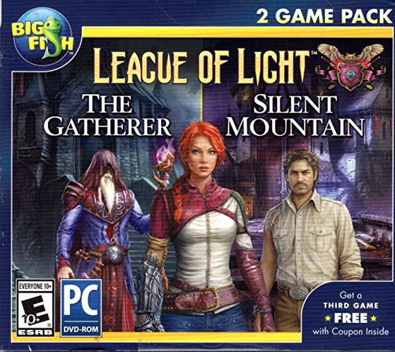 Big Fish League of Light THE GATHERER + SILENT MOUNTAIN-PC
