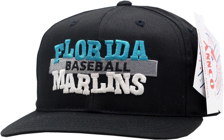 Florida Marlins Youthスナップバック帽子Jambalayaブロックロゴ11770 B01FSZWYD2