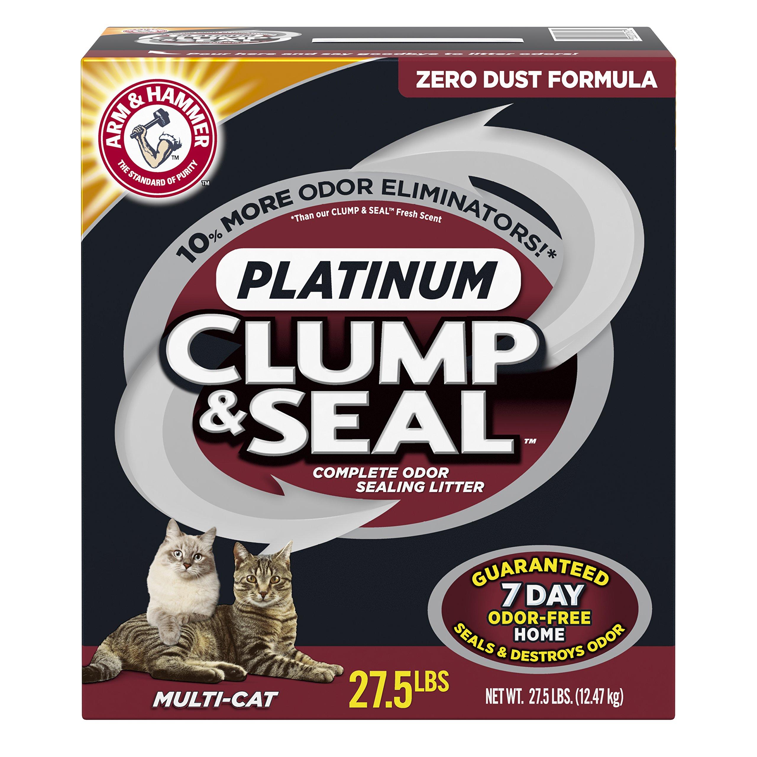 Arm & Hammer Clump & Seal Multi-Cat Litter 27.5 lb