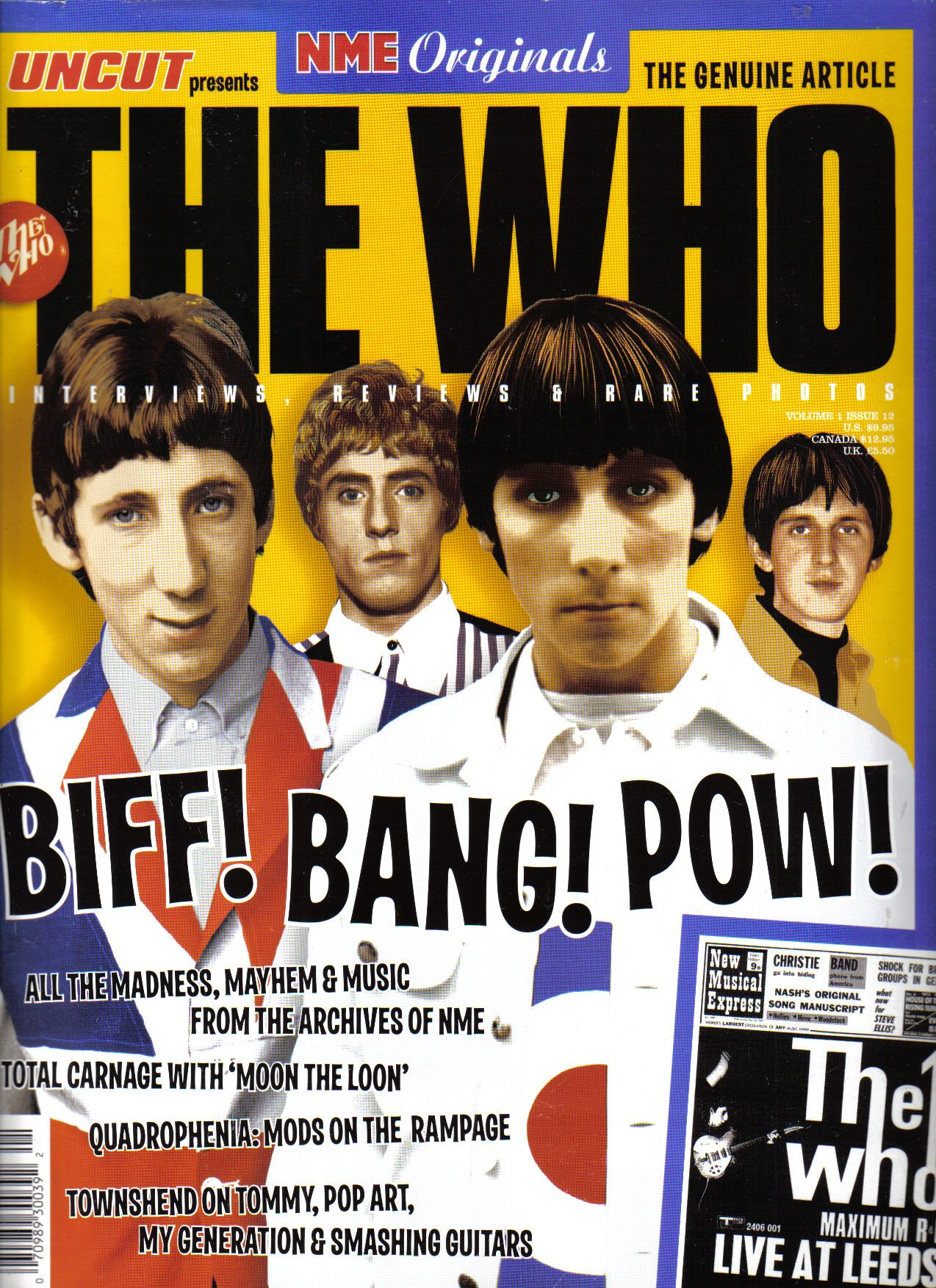 Read Online NME Originals Vol. 1 Issue 12 Published 2004 The Who - Biff! Bang! Pow! ePub fb2 book