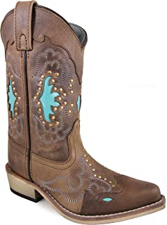 37ff598d824 Amazon.com | Smoky Mountain Girls' Cowgirl Boot Snip Toe - 3363Y ...